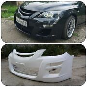 Front Bumper Autoexe Style For Mazda 3 Mps Bk