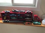 Disney Collection Cars Mack Carrier And Die Cast Cars - Boys - R/c + Vehicles