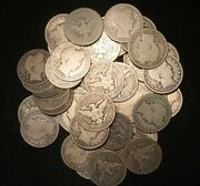 Barber Half Dollars 90 Silver Coin Lot Circulated Cull Choose How Many