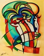 Some Like It Hot By Gockel Fine Art On Canvas Abstract