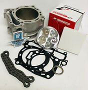 Yfz450 Yfz 450 95m Stock Oem Bore Cylinder Wiseco 141 Top End Rebuild Kit Chain