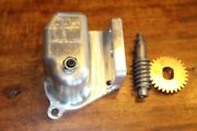 1964 1967 Lincoln And T-bird Convertible Upper Back Panel Gear Drive Cover And Gears
