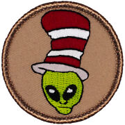 Wacky Boy Scout Patches - F34 - The Alien Cat In The Hat Patrol 70415
