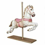 American Merry Go Round Full Size 57 Large Carousel Horse Statue