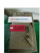 Stainless Steel Electrical Disconnect Box, Used , Panel Box, Free Ship Tools