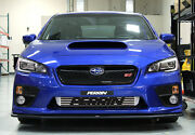 Perrin Front Mount Intercooler Fits 2015-2020 Sti Black Core W/red Piping