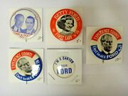 Poles For Ford Political Presidential Campaign Pin Pinback Button Lot Of 5