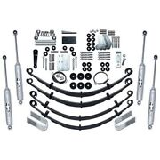 Rubicon Express Extreme Duty Front And Rear Suspension For 87-95 Jeep Wrangler
