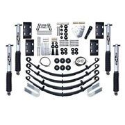 Rubicon Express Super-flex Coil Front And Rear Suspension For 84-01 Cherokee