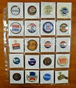 20 President Political Campaign Pinback Buttons Nixon Mcgovern Wallace Mccarthy