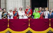 British Royal Family Glossy Poster Picture Photo Print Banner Queen 4471