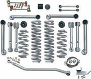 Rubicon Express Super-flex Standard Front And Rear Suspension For 97-06 Wrangler