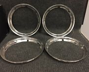 1 Set Nice Used 13'' Chevy Trim Rings Beauty Rings Chevrolet A