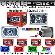 Oracle Pre-installed 4x6 Sealed Beam Led Halo Headlights - All Colors - 6909