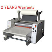 Pro 14and039and039 Hot Roll Laminating Machine Hot Cold Laminator Roll Laminating Machine