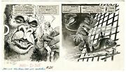 Harry North Original Art Mad 211 Ec 12/1979 When Women Take Over Movies A