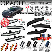 Oracle Led Sidemarkers For 16-19 Chevrolet Camaro - Clear And Tinted - 9900