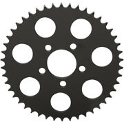 Drag Specialties Gloss Black 530 Chain Coversion Flat Sprocket 46-tooth Harley
