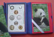Japan 2011 The Wwf 50th Annv. 6 Coins Proof Set With Uk Ag Coin And Silver Medal