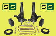 2001 - 2010 Ford Ranger 2wd 5/4 Lift Kit Spindles //rear Blocks/coil Spacers
