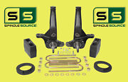 2001 - 2010 Ford Ranger 2wd 5/5 Lift Kit Spindles /coil Spacers/rear Blocks