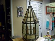 Authentic Antique Train Station/carriage House Lampturn Of Century Old.