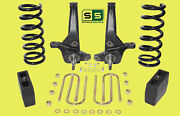01-10 Ford Ranger 2wd 7/ 5 Lift Kit 4 Cyl Spindles/coil Springs/lift Blocks