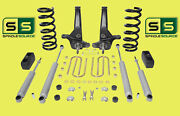 01-10 Ford Ranger 2wd 6/3 Lift Kit 6 Cyl Spindles/coil Springs/blocks/4 Shock
