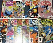 Cloak And Dagger 1-11 High Grade Full Set Now In Their Own Marvel Tv Show 1985