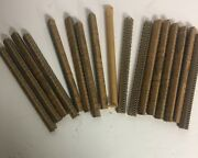 New Old Stock Lot Of 16 Clipper 1-a Galvanized Belt Hooks Free Shipping