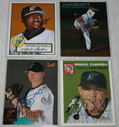 The Smoky Collection   Florida Marlins A-m In Person Autograph Auto   You Pick