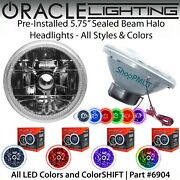 Oracle Pre-installed 5.75 Sealed Beam Led Halo Headlights - All Colors - 6904