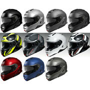 New Shoei Neotec 2 Modular Dot Motorcycle Street Helmet -pick Size And Color