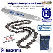 501842152 Husqvarna 14 Bar Chain Kit For 316e 335xpt 338xpt 326p T435 Chainsaw