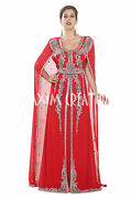 Most Admirable Party Wear Marriage Ceremony Caftan Dress For Arabian Women 5548