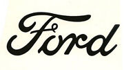 Ford Script Emblem Vinyl Decal Die Cut Sticker 4 6 Or 9 Wide Many Colors