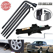 For 2015 2014 2013 Dodge Ram 1500 Spare Tire Lug Wrench Tool And Scissor Jack Kit