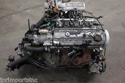 Jdm 85-87 Honda Civic Crx Ew Ew5 1.5l Fuel Injected Complete Engine And Mt Trans