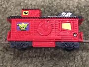 Wendys Kids Meal Lionel Eerie Express Train Red Caboose Railroad Car Craft Piece