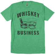 Whiskey Business Moonshine Outlaw Country Western Jim Beam Jack Daniels T Shirt