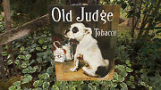 Vintage Signs Old Judge Dog Canine Tobacco Advertising Wall Decor Metal Sign K9