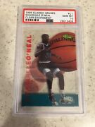 1995 Clear Excitement Shaquille Oand039neil Classic Images 5sport Psa 10 Population1
