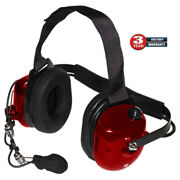 Titan Extreme Noise Red Headset Replacement For Klein K-cord And Qd Adapters