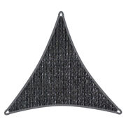 Coolaroo Triangle Commercial Shade Sail 5m 95 Uv Block, Fade Resistant Graphite