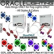 Oracle Halo Rings For Fog Lights For 03-10 Hummer H2 All Colors - 1133