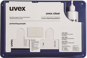 Uvex Lens Cleaning Station Spray On And Dry Off Wall Mountable German Brand