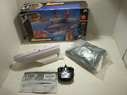 2000 Mattel Inc. Tyco Rc Sharkinator Toys Water Boat Remote Controlled Shark 3ft