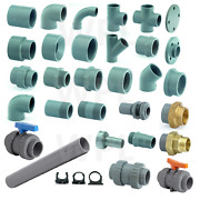 Abs Pipework Pipe Fittings Solvent Weld For Chilled Water Food Beverage System