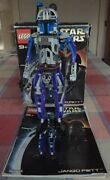 Lego Star Wars Jango Fett From Set 8011 Includes Manual And Box