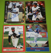 The Smoky Collection Multi Ad Sports Milb In Person Autograph Auto A-j You Pick